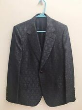 Auth Gucci Mulberry Silk Wool Peak Lapel Blazer Evening Jacket 48R US 38R $2970