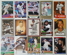 HOF Baseball Card Lot of 12 / 1970's to 2010 HOF Players Only + Free wax Pack