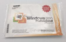 MS Windows 2000 Professional Deutsch mit SP2 + Hologramm-CD + Key