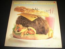 More details for not the nine o'clock news vinyl lp hand signed rowan atkinson mel smith pam grif