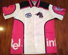 Formula One Brisk in Pink, Intel, Race Shirt, Size Small, Nwot