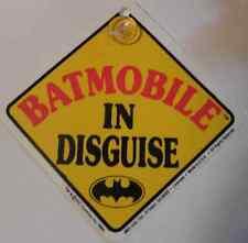 Panneau Batman de signalisation pour voiture Batman batmobile official car sign