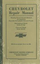 1929 1930  CHEVROLET PASSENGER CAR/TRUCK SHOP MANUAL