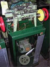 Fico Type Curb Style Cable Chain Making Machine With Turntable & Stand!