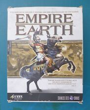 PC CD-ROM Empire Earth Jeux Video Game Sierra Complet