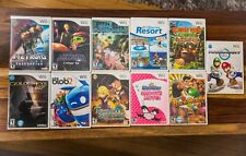 Wii 11 Game Collection - Donkey Kong Mario Kart Punch-Out Metroid Goldeneye CIB