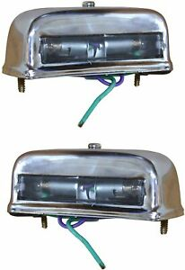 Licence Plate Light Set Suitable for VW LT1 Iveco Magirus Ford Transit and Unive