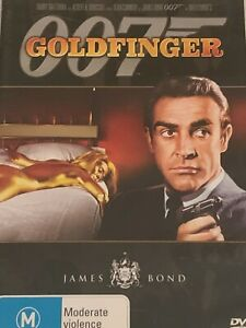 Goldfinger 007  Sean Connery James Bond  DVD