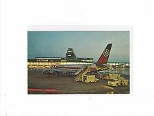 Air Canada airlines DC-8 at Montreal  inter/l airport  postcard