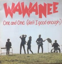 45 Wa Wa Nee One & One (Ain't I Good Enough) Double Pack Gatefold  Red Vinyl VG