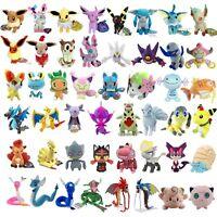 Pokemon Pikachu Eevee Sylveon Hoopa Skitty Jangmo-o Dragonair Plush Toy Optional