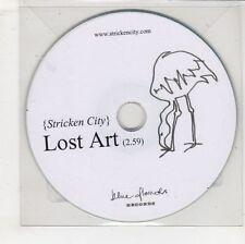 (GW591) Stricken City, Lost Art - DJ CD