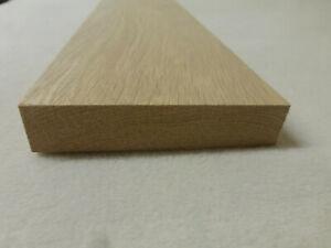 (a145)  1Stk 90cm Rechteckleiste Eiche 20x80mm Vierkant Holzleisten