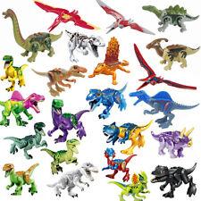 Jurassic World - Indominux Rex - T-REX - Tirannosauro - Velociraptor-COMPATIBILE