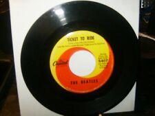 the Beatles 45 VG 1968 swerl Capitol LBL / British Invasion / Pop /