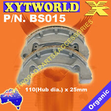 REAR Brake Shoes for Yamaha TY 80 1977