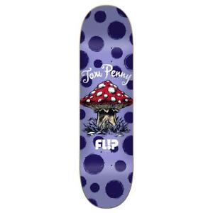 """Flip Penny Dots Reboot Skateboard Deck Purple 8.13"""""""