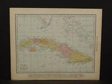 Cuba, Map, c.1914, X1#31