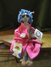 "Hallmark Shoebox ""Maxine"" Plush Shelf Sitter-Bah Hum-Bag Christmas Carol Book"