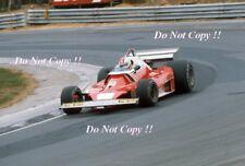 Clay Regazzoni Ferrari 312 T2 pre British Grand Prix test 1976 fotografía 2
