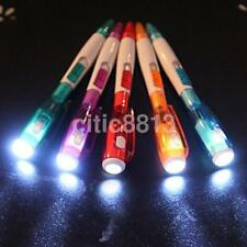 School Office Home Supplies Upmarket 2 in 1 Ballpoint Pen with Flashlight LED CA