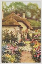 Somerset postcard - The Rest, Selworthy