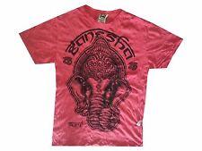 New Yoga Men T Shirt Buddha tattoo Lotus India OM Ganesha Tee Man  XL RARE Sure