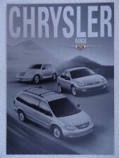 Chrysler brochure 2002 - PT Cruiser, Voyager, Neon models