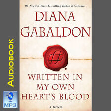 Outlander #8 - WRITTEN IN MY OWN HEART'S BLOOD - Diana Gabaldon - MP3 CD