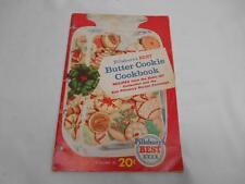 Old Vtg PILLSBURY'S BEST BUTTER COOKIE Cookbook Volume III  20 cent Retail