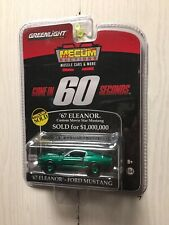 GREENLIGHT GREEN MACHINE 2014 GONE IN 60 SECONDS '67 ELEANOR FORD MUSTANG MECUM