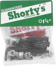 "Shorty's bolts 1-1/4"" Kit di montaggio punta esagono interno Skateboard Longboard"
