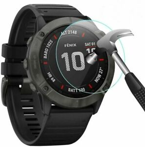 3 x  Screen Protector Tempered Glass Cover Protective Case for Garmin Fenix 6X