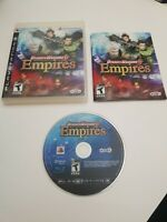 Dynasty Warriors 6: Empires (Sony PlayStation 3, 2009) Complete PS3 Game CIB