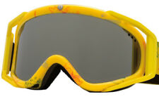 NEW ELECTRIC RIG 5 GOGGLES MEN WOMEN SKI SNOWBOARD SNOW YELLOW EXTRA LENS FREE