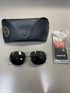 Ray-Ban Junior Sunglasses RJ 9561S 200/71 50 Gunmetal | Green Classic Lens