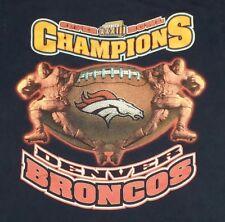 Denver Broncos Super Bowl Xxxiii 23 Football t shirt X-Small petite Yl 09012019