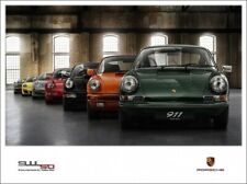 A3 PORSCHE 911 50 YEARS ANNIVERSAY EVOLUTION POSTER BROCHURE PICTURE ART PRINT