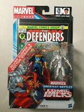 """Marvel Universe 3 3/4"""" DOCTOR STRANGE & SILVER SURFER Action Figure 2 Pack Comic"""