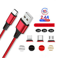 1M 2M 3M Micro USB Charging Cable Lead For iPhone Samsung Android Fast Charge
