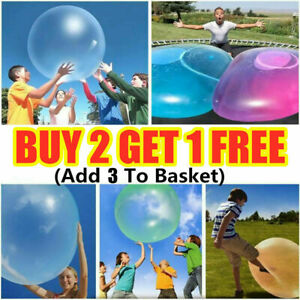 40-120cm Inflatable Wubble Bubble Ball Balloon Stretch Outdoor Beach Kids Toy UK