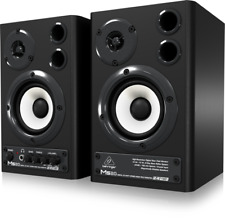 Behringer MS20 24-Bit/192 kHz Digital 20-Watt Monitors Speakers Pair MS-20