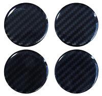 Nabenkappen Aufkleber 3D 910034 Carbon Schwarz Felgendeckel Radnabendeckel 60 mm