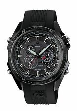 Casio Edifice Men's EQS-500C-1A1ER Quartz Solar Powered Watch with Black Dial