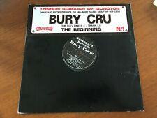 "Bury Crew The Beginning 12"" Task Force Mud Family Chester P UKHH UK Hip Hop Rap"