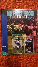 Air Force Falcon football 98 vs. SMU Mustangs Game Day Program October 31 Band