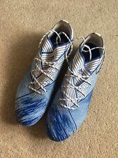 Addidas Nemeziz 19.1 Firm Ground Men's football boots UK Size 10 Used VGC