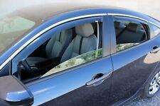 In-Channel Wind Deflectors: 2016-2020 Honda Civic (Sedan)