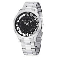 Stuhrling Winchester 754 Men's 42mm Silver Steel Bracelet & Case Watch 754.02