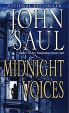 Midnight Voices by Saul, John Book The Cheap Fast Free Post
